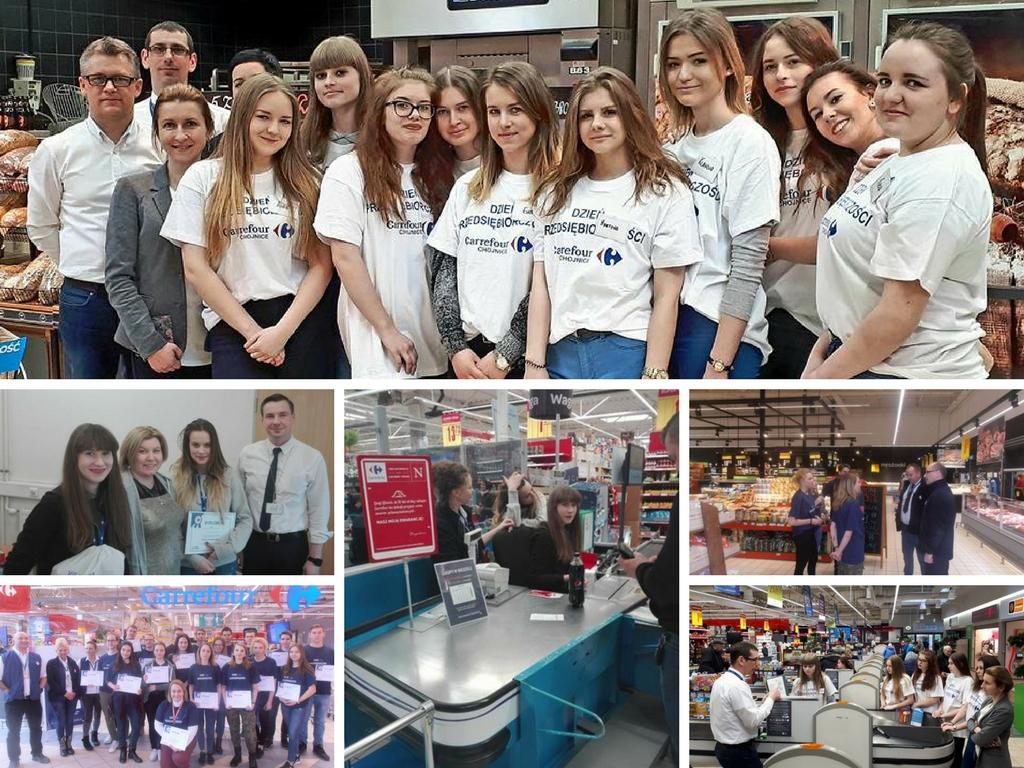 Dzień Przedsiębiorczości w Carrefour Polska